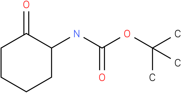 (2-oxo-cyclohexyl)-carbamic acid tert-butyl ester