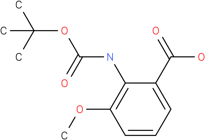 boc-2-amino-3-methoxybenzoic acid