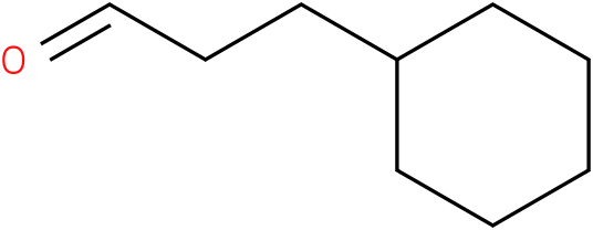 3-cyclohexylpropionaldehyde