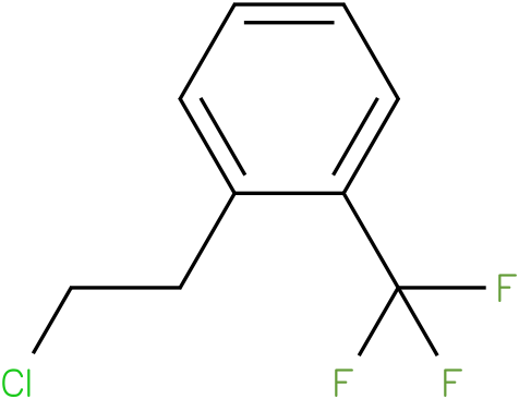 1-(2-chloroethyl)-2-(trifluoromethyl)benzene