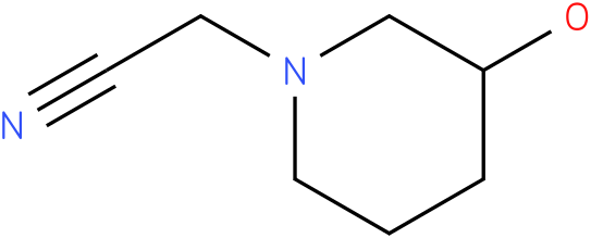 2-(3-hydroxypiperidin-1-yl)acetonitrile