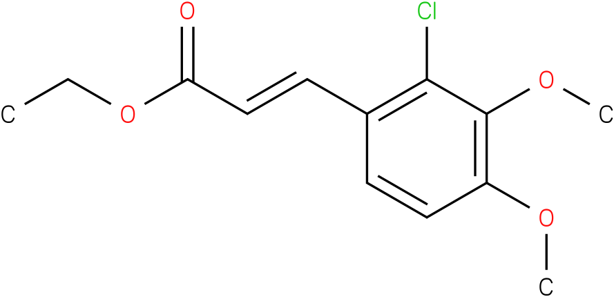 (E)-ethyl 3-(2-chloro-3,4-dimethoxyphenyl)acrylate