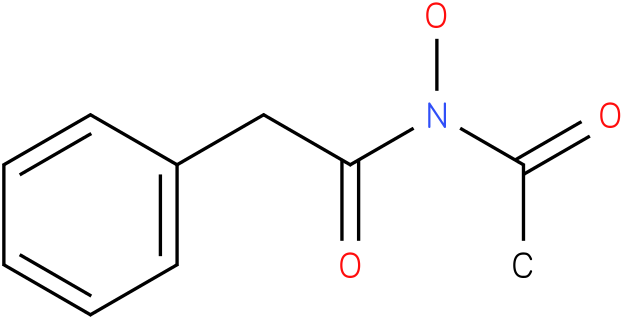 n-acetyl-n-hydroxy-2-phenylacetamide