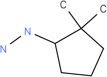 1-(2,2-dimethylcyclopentyl)hydrazine