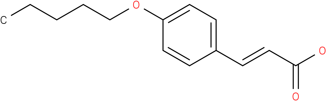 (E)-3-(4-(pentyloxy)phenyl)acrylic acid