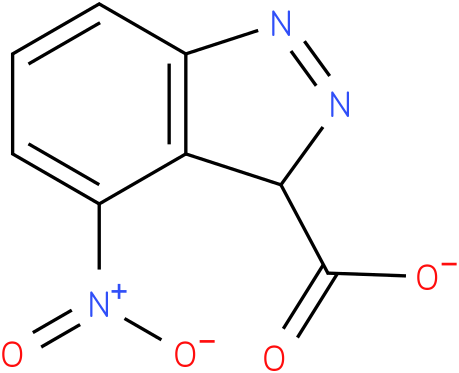 4-nitro-3H-indazole-3-carboxylate