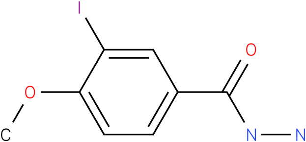 3-iodo-4-methoxy-benzoic acid hydrazide