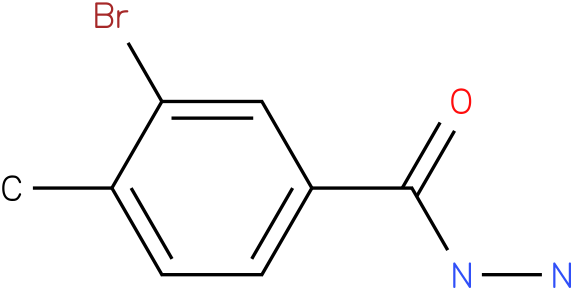 3-bromo-4-methyl-benzoic acid hydrazide