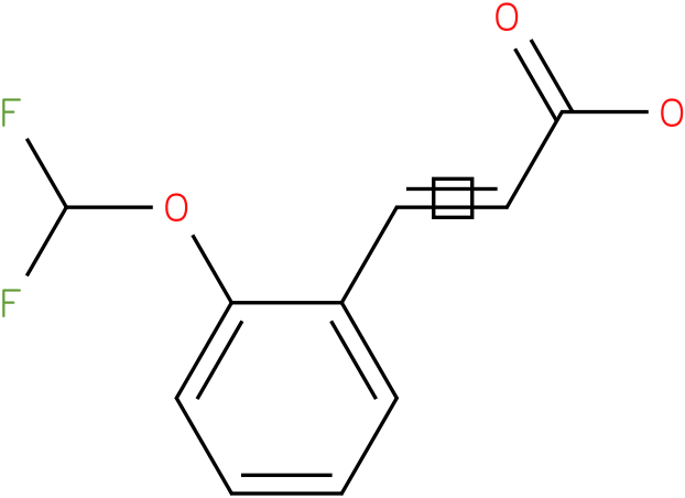 3-(2-difluoromethoxy-phenyl)-acrylic acid