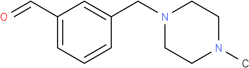 3-((4-methylpiperazin-1-yl)methyl)benzaldehyde