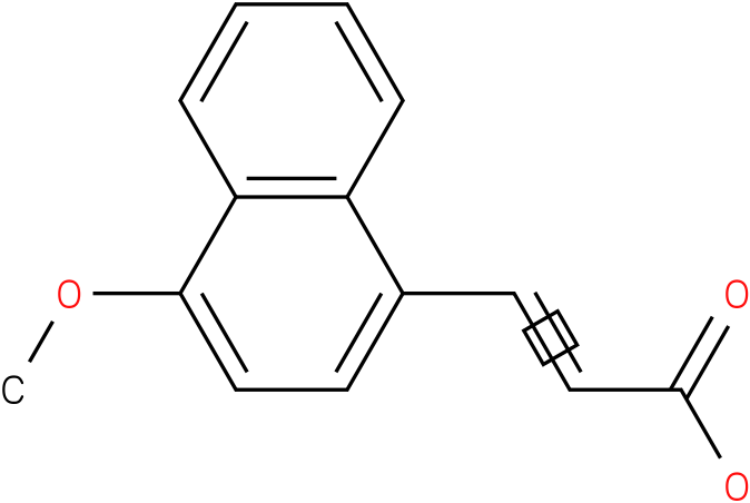 (E)-3-(1-methoxynaphthalen-4-yl)acrylic acid