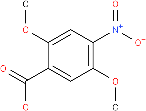 2,5-dimethoxy-4-nitrobenzoic acid