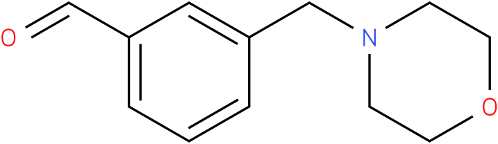 3-(morpholinomethyl)benzaldehyde
