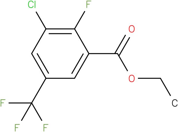ethyl 3-chloro-2-fluoro-5-(trifluoromethyl)benzoate