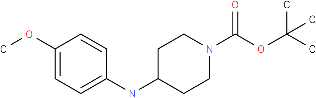 tert-butyl 4-(4-methoxyanilino)tetrahydro-1(2h)-pyridinecarboxylate