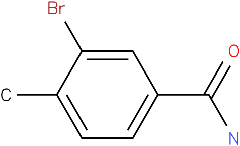 3-bromo-4-methylbenzamide
