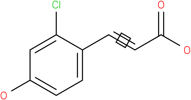 3-(2-chloro-4-hydroxy-phenyl)-acrylic acid