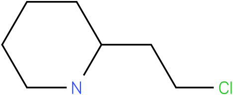2-(2-chloroethyl)piperidine
