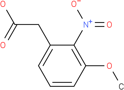 3-Methoxy-2-nitrophenylacetic acid
