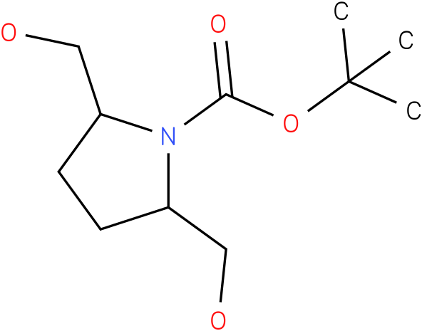 tert-butyl 2,5-bis(hydroxymethyl)pyrrolidine-1-carboxylate