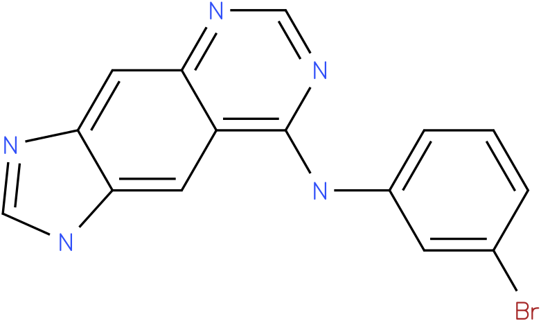 N-(3-bromophenyl)-1H-imidazo[4,5-g]quinazolin-8-amine