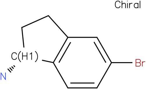 (R)-5-Bromo-2,3-dihydro-1H-inden-1-amine