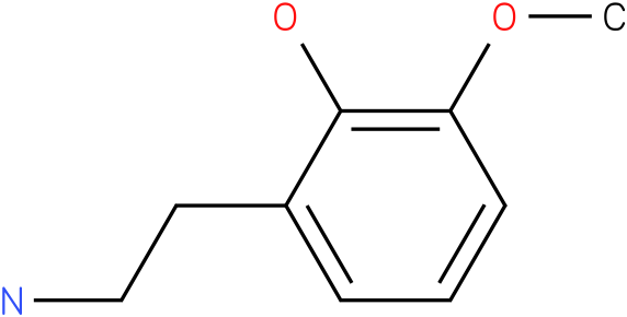 2-(2-aminoethyl)-6-methoxyphenol