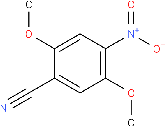 2,5-dimethoxy-4-nitrobenzonitrile