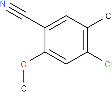 4-chloro-2-methoxy-5-methylbenzonitrile