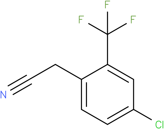 2-(4-chloro-2-(trifluoromethyl)phenyl)acetonitrile