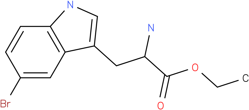 ethyl 2-amino-3-(5-bromo-1H-indol-3-yl)propanoate