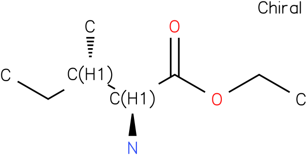 (2S,3S)-ethyl 2-amino-3-methylpentanoate