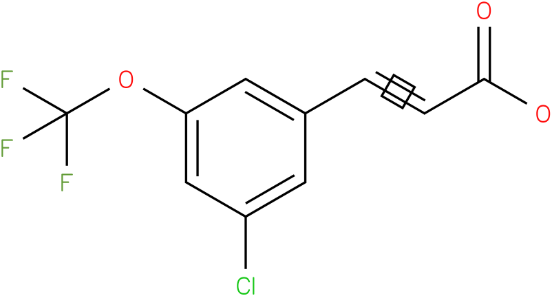 (E)-3-(3-chloro-5-(trifluoromethoxy)phenyl)acrylic acid