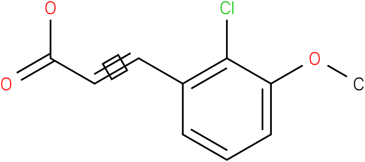 (E)-3-(2-chloro-3-methoxyphenyl)acrylic acid