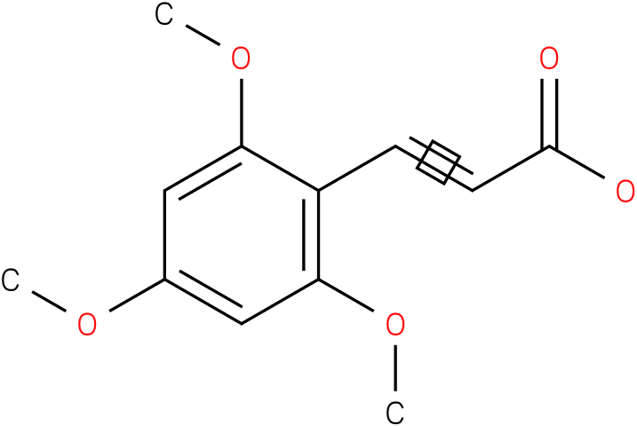 (E)-3-(2,4,6-trimethoxyphenyl)acrylic acid