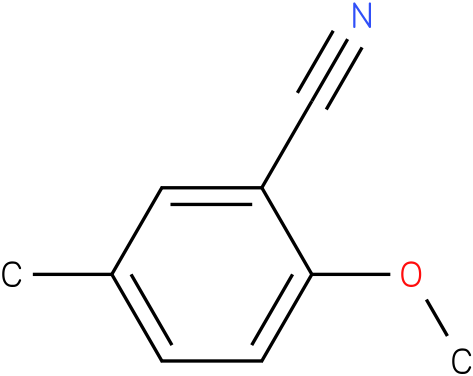 2-methoxy-5-methylbenzonitrile