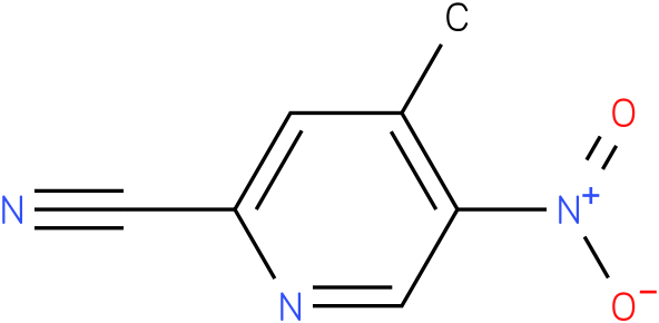 4-methyl-5-nitropyridine-2-carbonitrile