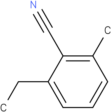 2-ethyl-6-methylbenzonitrile