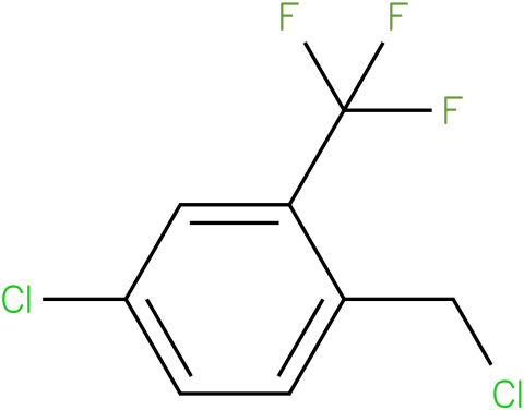4-chloro-1-(chloromethyl)-2-(trifluoromethyl)benzene