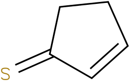 cyclopent-2-enethione
