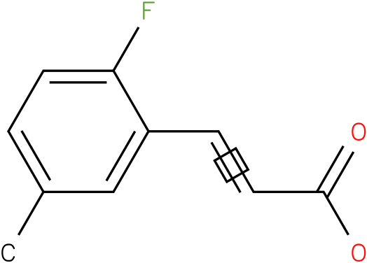 (E)-3-(2-fluoro-5-methylphenyl)acrylic acid