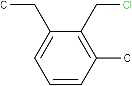 2-(chloromethyl)-1-ethyl-3-methylbenzene