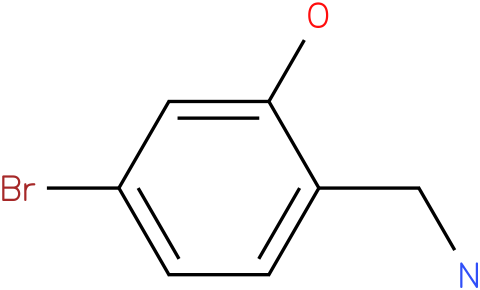 2-(aminomethyl)-5-bromophenol