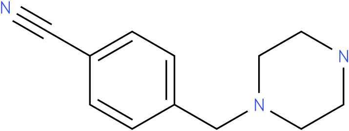 4-((piperazin-1-yl)methyl)benzonitrile