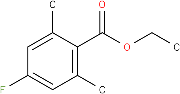ethyl 4-fluoro-2,6-dimethylbenzoate