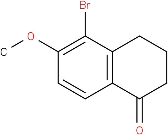 5-bromo-3,4-dihydro-6-methoxynaphthalen-1(2H)-one