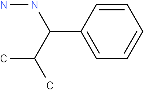 1-(2-methyl-1-phenylpropyl)hydrazine