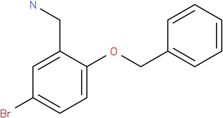 (2-(benzyloxy)-5-bromophenyl)methanamine