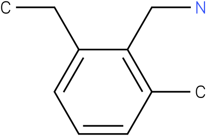(2-ethyl-6-methylphenyl)methanamine