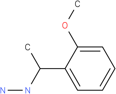 1-(1-(2-methoxyphenyl)ethyl)hydrazine